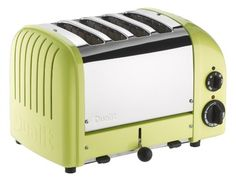Shop Dualit Azure-Blue NewGen Toaster and more from Sur La Table! Dualit Toaster, Four Slice Toaster, Toaster Ovens, Green Toaster, Pink Toaster, Retro Toaster, Small Appliances, Kitchen Appliances, Toaster