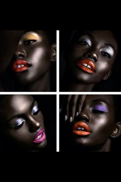 I really really want to work with a deep-complexion model for glamour shots. So incredibly beautiful.