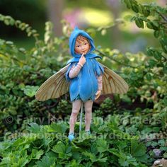 Fairy Homes and Gardens - The Scilla Fairy - Cicely Mary Barker Flower Fairy, $14.99 (http://www.fairyhomesandgardens.com/the-scilla-fairy-cicely-mary-barker-flower-fairy/)
