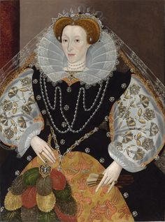 Unknown Artist  —  The Portraits Elizabeth I, Queen of England, 1590's    (1084x1461)