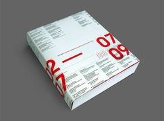 Book Design By Designers United. 576 page publication designed on the occasion of the celebration of 30 years of Macedonian Museum of Contemporary Art (MMCA). http://designersunited.gr