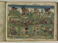 Artist: Unknown, Title: Bamberger Burgenbuch, Date: 1527, Page: 52