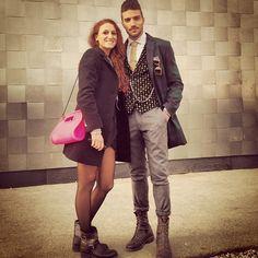 Mariano Divaio e Serena. Barmat Bulla Pink