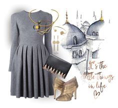 """""""Little Things"""" by kateo ❤ liked on Polyvore featuring Ermanno Scervino, LeiVanKash, Rebecca Minkoff, Isabel Marant and 6129"""