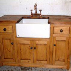 Stand Alone Kitchen Sink Units