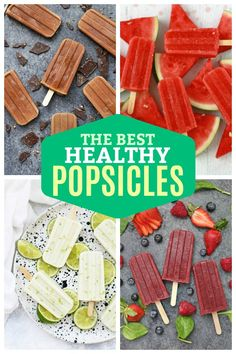 homemade popsicles healthy The BEST Healthy Homemade Popsicles - Some of the BEST healthy popsicle recipes out there! All naturally sweetened, gluten free, dairy free, and paleo or vegan friendly! Home Made Popsicles Healthy, Homemade Fruit Popsicles, Peach Popsicles, Healthy Popsicle Recipes, Ice Pop Recipes, Baby Popsicles, Drink Recipes, Smoothie Recipes, Keto Recipes