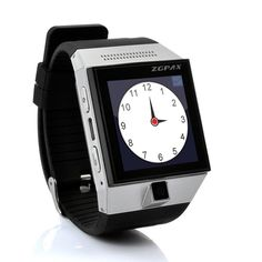 """ZGPAX S5 ANDROID 4.0 SMART PHONE WATCH - 1.54""""  TOUCH SCREEN, CAMERA, GPS WIFI #Androidly"""