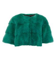 Sarah mink-fur cropped jacket | Lilly E Violetta | MATCHESFASHION.COM UK