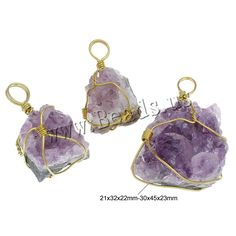 New fashion druzy style Natural Quartz Purple Amethyst Necklace Pendants Crystal Gem Agate Pendant Christmas Gifts for wonmen