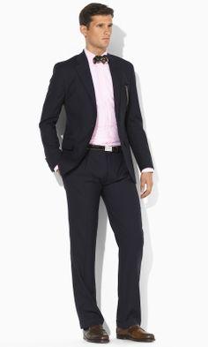 Two-Button Navy Suit - Polo Ralph Lauren Suits - RalphLauren.com