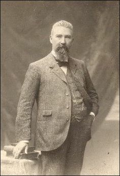 """Richard Joshua """"R. J."""" Reynolds (1850-1918) American businessman & founder of the R. J. Reynolds Tobacco Company. In 1874 he moved to Winston-Salem, North Carolina to start his own tobacco company. Reynolds was a savvy businessman & a hard worker, & quickly became the wealthiest person in the state of North Carolina. By the time of his death, Reynolds' $66,000 paid annually in taxes was double the next-highest taxpayer. At the age of 28, his daughter Mary inherited $30 million"""