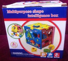 ของเล่นเด็ก บล็อคหยอด Shape Box ~ 499.00 บาท >>
