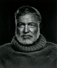 Ernest Hemingway - Yousuf Karsh