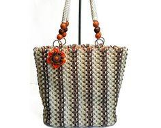 Αποτέλεσμα εικόνας για macrame handbag
