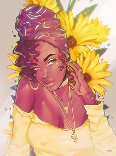 New Hair Art Painting Afro Ideas Black Love Art, Black Girl Art, Art Girl, Black Ish, African American Art, African Art, American History, African Tattoo, Black Art Pictures