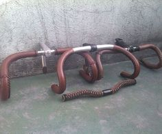 Leather Bicycle Handlebar Grips