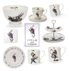 Mrs Moores Alice in wonderland collection