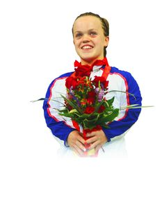 Eleanor Simmonds - hopefully only one of the Paralympians in the 2012 GB team - The BPA have been working closely with the Royal Mail and are very pleased with the final plans.  These consist of a special series of six stamps that will feature all medallists and will be released after the Games and a gold post box in the home town of every gold medalist.  This is not the exactly the same as Team GB where each gold medal winning performance is commemorated by a stamp