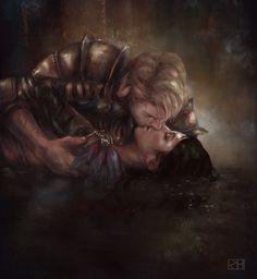 Valentine's Kiss by perditionxroad
