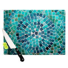 "Sylvia Cook ""Circular"" Cutting Board from KESS InHouse"