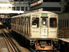 ▶ Chicago 'L' Train - A ride on the elevated train. - YouTube