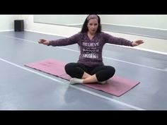 A Stretch for Better Belly Dance Posture - YouTube