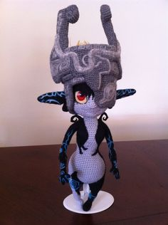 Wow!! Wow!! Wow!! Are you freaking kidding me?!? A-MAE-ZING crocheted Midna!!!