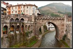 Potes (Cantabria) Spain.