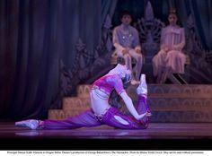 Beading + sleeves + split pants, Oregon Ballet Theatre's Arabian costume from The Nutcracker.