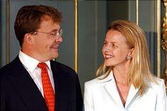 Prince Friso of Orange-Nassau and Mabel Martine Los  Married: 24 April 2004 in Delft