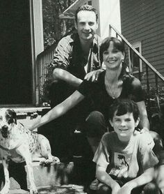 The Grimes family before the apocalypse :)
