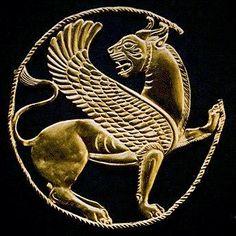 Iranian Achaemenid Golden Lion   #Achaemenids