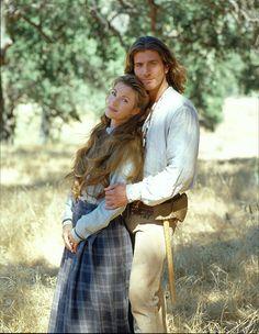 Jane Seymour and Joe Lando in Dr. Quinn, Medicine Woman (1993)