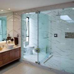 P& B : Baños de estilo Moderno por Micheas Arquitectos
