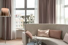 NH Collection Amsterdam Grand Hotel Krasnapolsky, Amsterdam, Presidential Suite, 1 Double or 2 Single Beds, Terrace, View, Guestroom