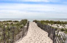 16 x 20 Beach Walkway Print