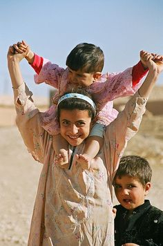 Children playing, Syria by iancowe, via Flickr