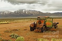 This Old Truck :  http://fineartamerica.com/profiles/robert-bales/shop/all/all/all