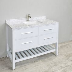 """Natalie 48"""" Single Bathroom Vanity Set"""