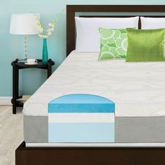 Slumber Solutions Choose Your Comfort 12-inch Full-size Gel Memory Foam Mattress -- Click image to review more details. (This is an affiliate link) #ModernHomeDecor