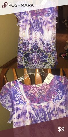 Blouse Floral Cato Tops Blouses