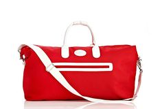Love the red! Makes me want to travel, but what doesn't?