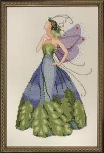 Maidenhair-Spring Garden Party Cross Stitch Pattern (NC167) Embroidery Patterns by Nora Corbett