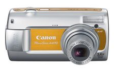 Canon PowerShot A470 7.1 MP Digital Camera with 3.4x Optical Zoom (Orange) ** You can find more details by visiting the image link.
