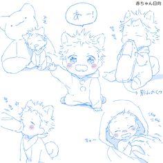 This is soooo Cute qwq omg im dying of cuteness