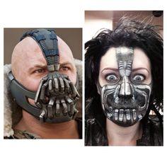 Bane from batman makeup