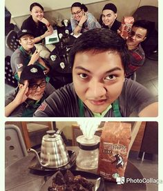 Missing almost 10 yrs we get to try Yukon blend again #tobeapartner #yukonblend #coffeetasting #sbux112 #awesomefeeling #coffeejourney #pourover http://ift.tt/20b7rle
