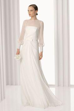 so sweet! bridal dress by Rosa Clará