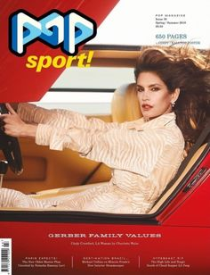 One of the most iconic supermodels, Cindy Crawford lands not one, but three covers for the Spring/Summer 2018 issue of POP magazine photographed by Charlotte Wales. Pop Magazine, Fashion Magazine Cover, Magazine Covers, Cindy Crawford, Tapas, Best Fashion Magazines, Jessica Stam, Georgia May Jagger, Spring Summer 2018