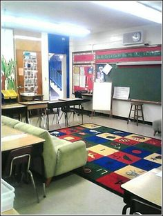 Why can't the high school classroom look like the middle or primary classroom? No reason I can find!
